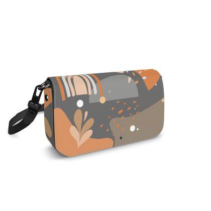 Flap Over Box Bag Abstract 01