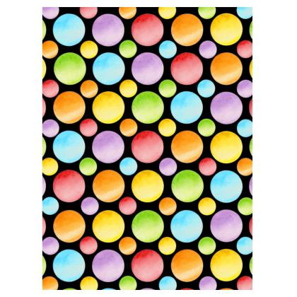 Rainbow Polka Dots Suitcase