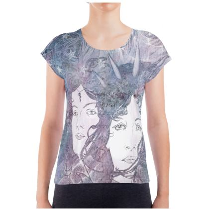 'Hecate - The goddess of Magic' Ladies T Shirt