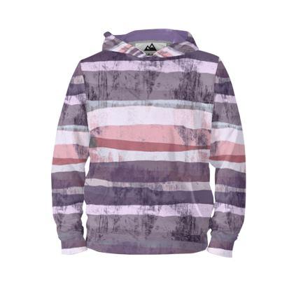 Mauve lands - hoodie