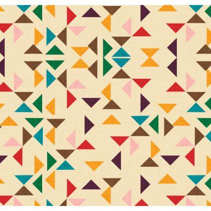 Kilim triangle pattern beige Cushions