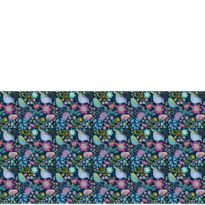 Birdgarden Night Tray Table Runner