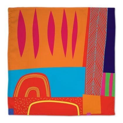 Memphis Cotton Napkins by Caroline Rees