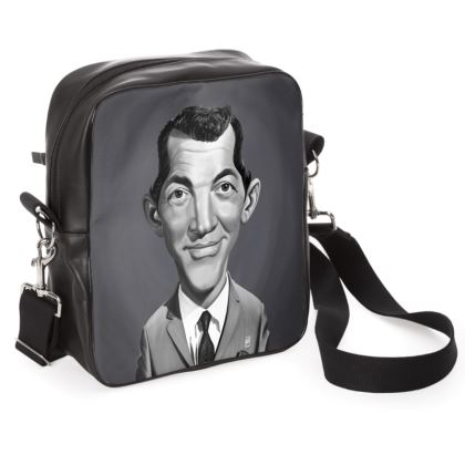 Dean Martin Celebrity Caricature Shoulder Bag