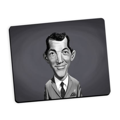 Dean Martin Celebrity Caricature Mouse Mat