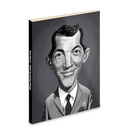 Dean Martin Celebrity Caricature Pocket Note Book