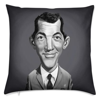 Dean Martin Celebrity Caricature Cushion
