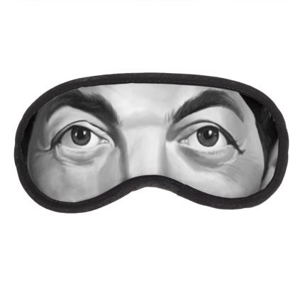 Dean Martin Celebrity Caricature Eye Mask