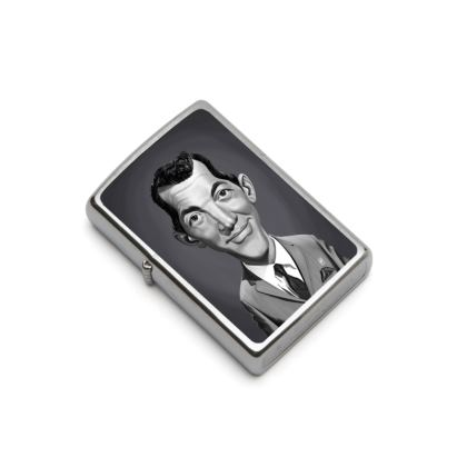 Dean Martin Celebrity Caricature Lighter
