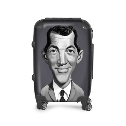 Dean Martin Celebrity Caricature Suitcase