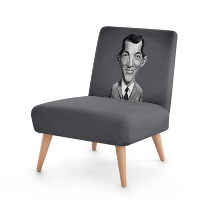 Dean Martin Celebrity Caricature Occasional Chair