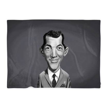 Dean Martin Celebrity Caricature Blanket
