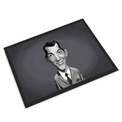 Dean Martin Celebrity Caricature Door Mat