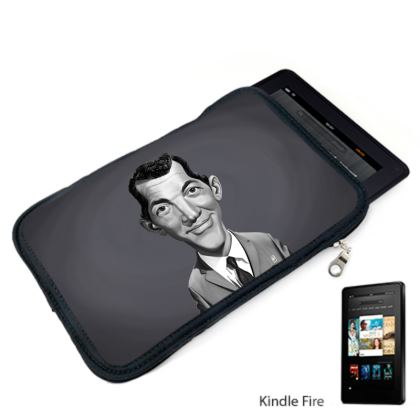 Dean Martin Celebrity Caricature Kindle Case