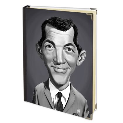 Dean Martin Celebrity Caricature Journals