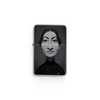 Maria Callas Celebrity Caricature Lighter