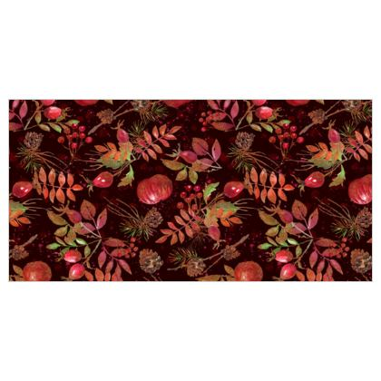 Autumn Garden - Curtains - orchard, watercolor gift, natural, picturesque, apples, floral