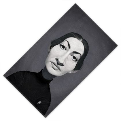 Maria Callas Celebrity Caricature Towels