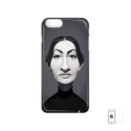 Maria Callas Celebrity Caricature iPhone 6 Case
