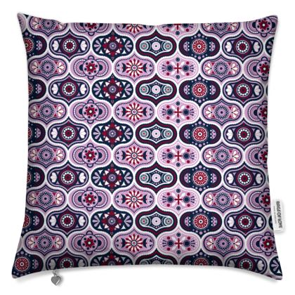 Vintage pattern Ogee Moroccan Cushions