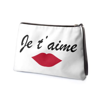 Je t'aime Clutch Bag