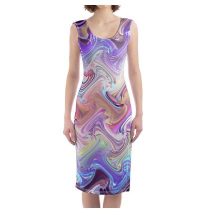 Bodycon Dress Painting 2