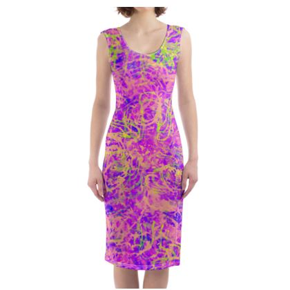 Bodycon Dress Painting 3