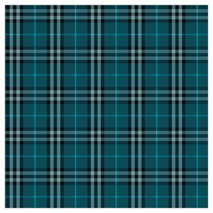 Blue tartan - Fabric Printing - Classic plaid checkered. Tiana Lofd