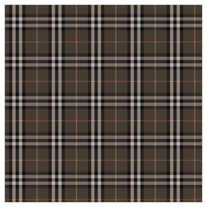 Brown tartan - Fabric Printing - Classic plaid checkered. Tiana Lofd