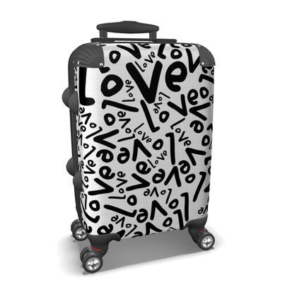 Love Travelling suitcase