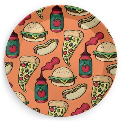 Pizza Party Plates