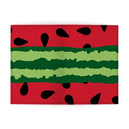 watermelon passport cover