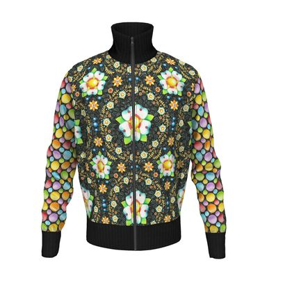 Dots and Daisies Men's Tracksuit Jacket