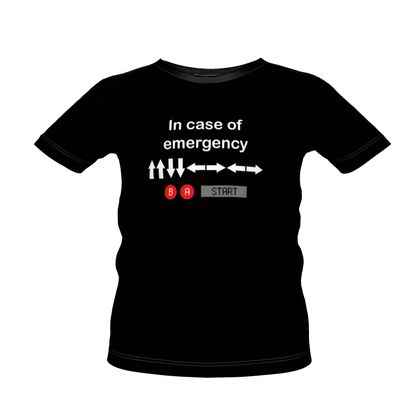 Boys Premium T-Shirt - In Case of Emergency - Use Cheat Code 2
