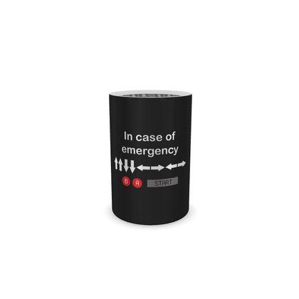 Wine Bottle Cooler - In Case of Emergency - Use Cheat Code 2