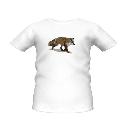 Boys Premium T-Shirt - Lonely Fox In The Snow