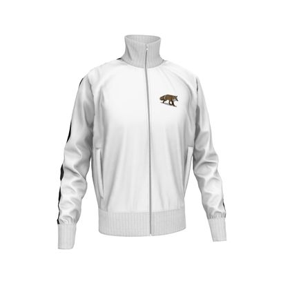 Mens Tracksuit Jacket - Lonely Fox In The Snow