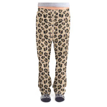 Leopard Print Ladies Pyjama Bottoms