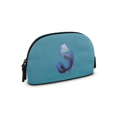Small Premium Nappa Make Up Bag - Magical Mermaid