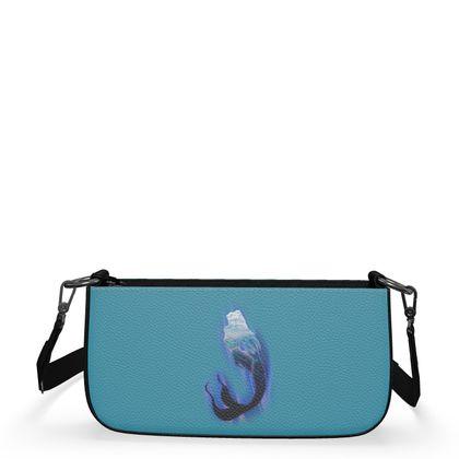 Medium Zip Box Bag - Magical Mermaid