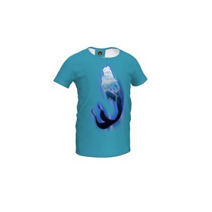Girls Simple T-Shirt - Magical Mermaid