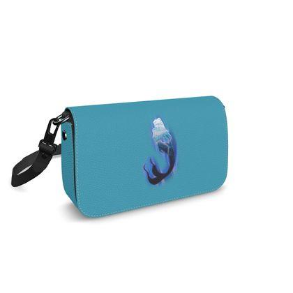 Flap Over Box Bag - Magical Mermaid