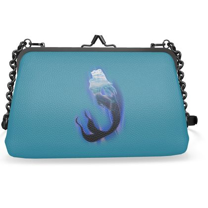 Small Flat Frame Bag - Magical Mermaid