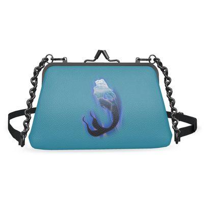 Large Flat Frame Bag - Magical Mermaid