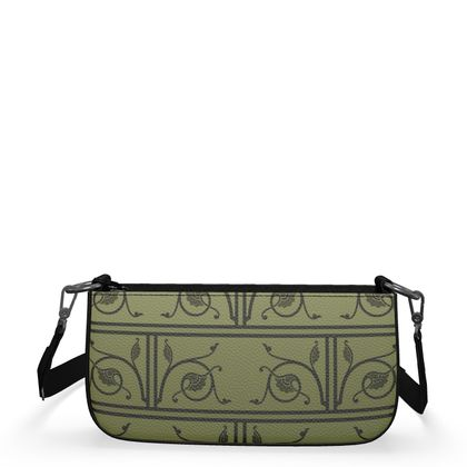 Medium Zip Box Bag - Medieval Pattern from The Practical Decorator 1 of 8