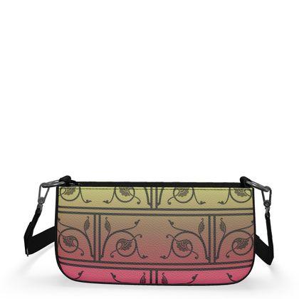 Medium Zip Box Bag - Medieval Pattern 6 of 8