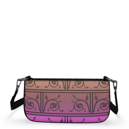 Medium Zip Box Bag - Medieval Pattern 7 of 8