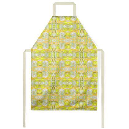 Aprons, Yellow, Green, Leaf  Jasmine  Lemon Curd