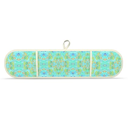 Double Oven Glove, Turquoise, Green, Leaf  Slipstream  Egypt