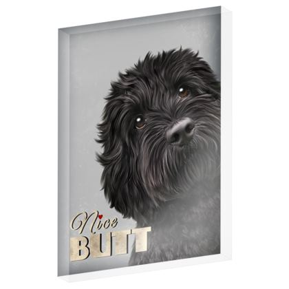 Nice Butt Black Dog